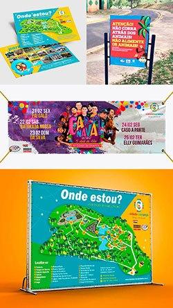 arte para a Cidade da Criança de Presidente Prudente